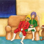 Commission: Char and Garma