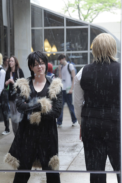Durarara!!: Orihara Izaya and Heiwajima Shizuo (Anime Central 2011)