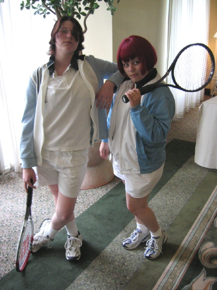 Prince of Tennis: Oshitari Yuushi and Mukahi Gakuto