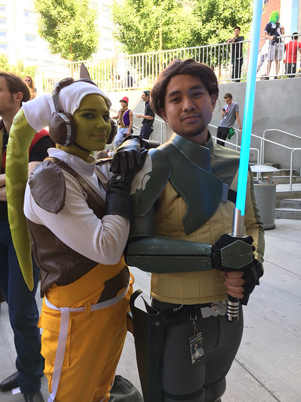 Star Wars Rebels: Hera Syndulla and Kanan Jarrus