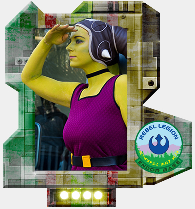 Hera Syndulla: Rebel Legion Card