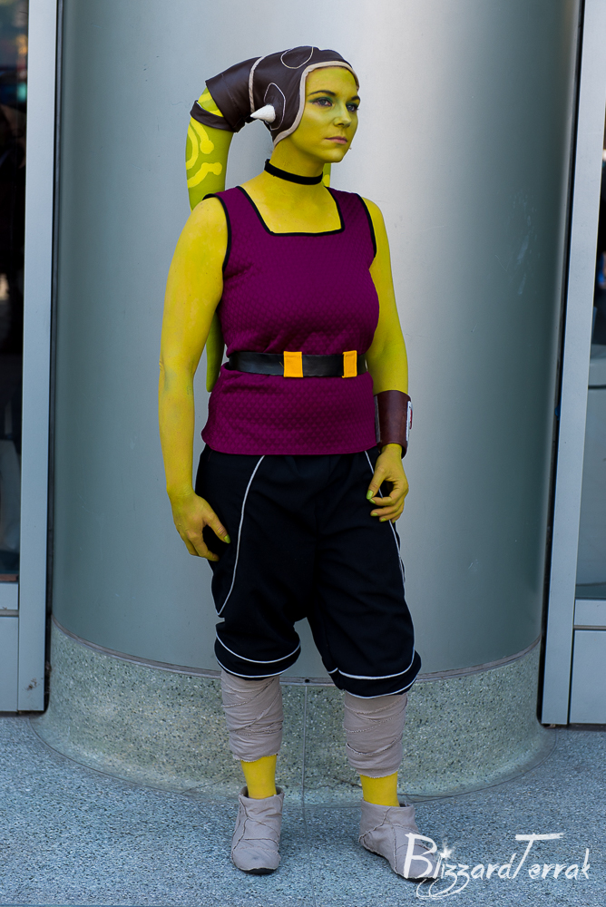 Hera Syndulla Civilian Version: Front View